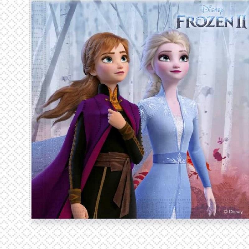 Servítky Frozen2 33x33cm 20ks