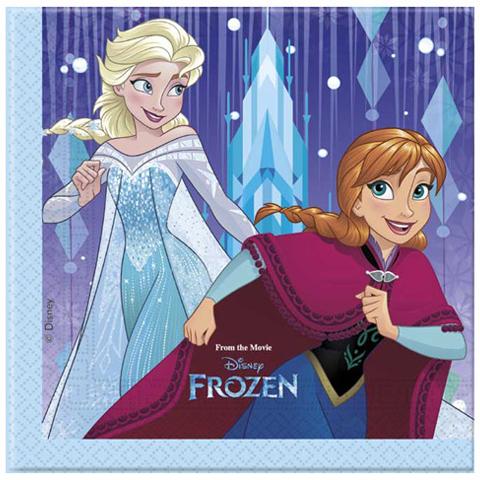 Servítky Frozen 33x33cm 20ks