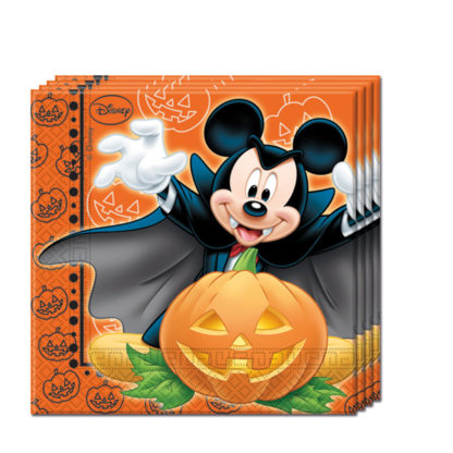 Servítky Mickey Halloween