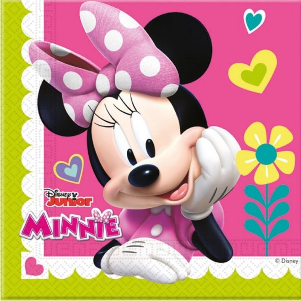 Servítky Minnie 33x33cm 20ks
