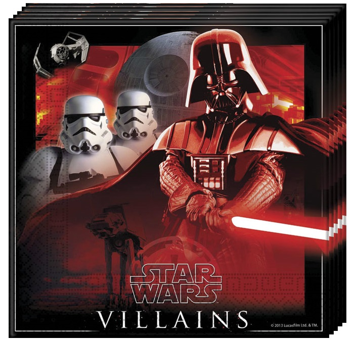 Servítky Star Wars 33x33cm 20ks