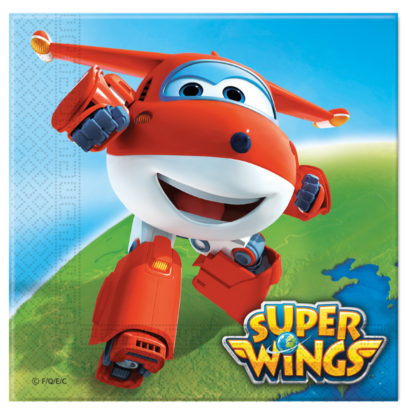Servítky Super Wings 33x33cm 20ks