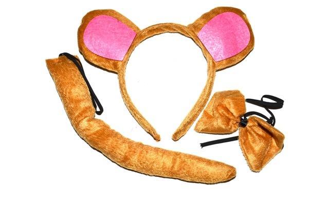 Karnevalový set - opica