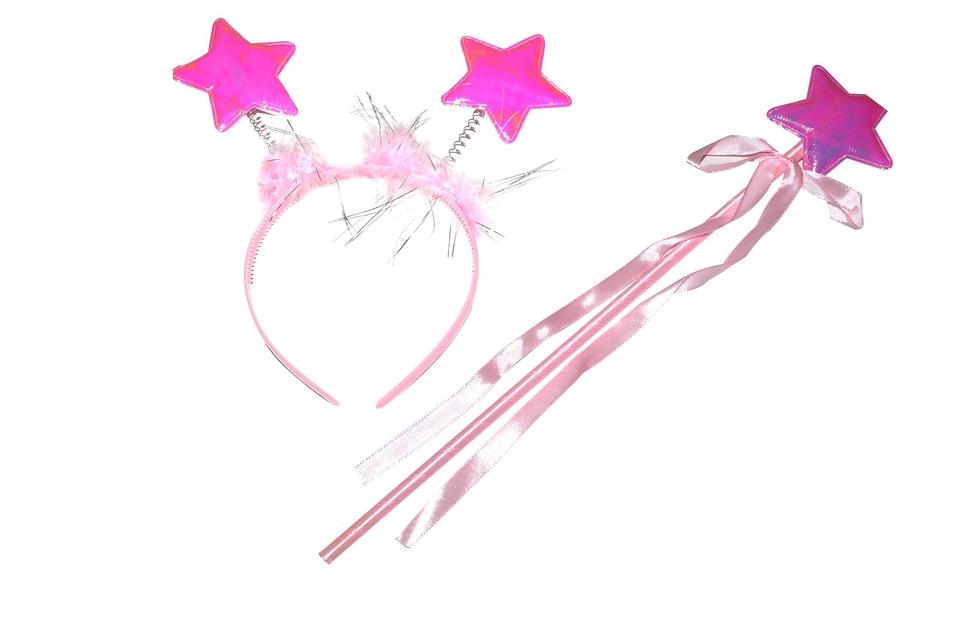 Karnevalový set - hviezdy