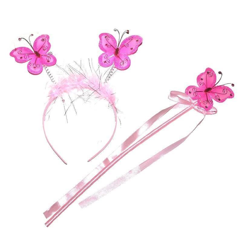 Karnevalový set motýl