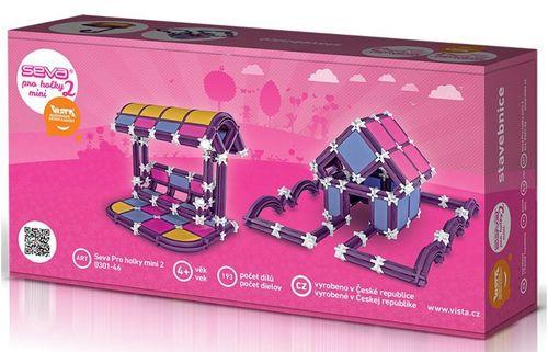 Seva 2 Mini stavebnica pre dievčatá 193 dielikov