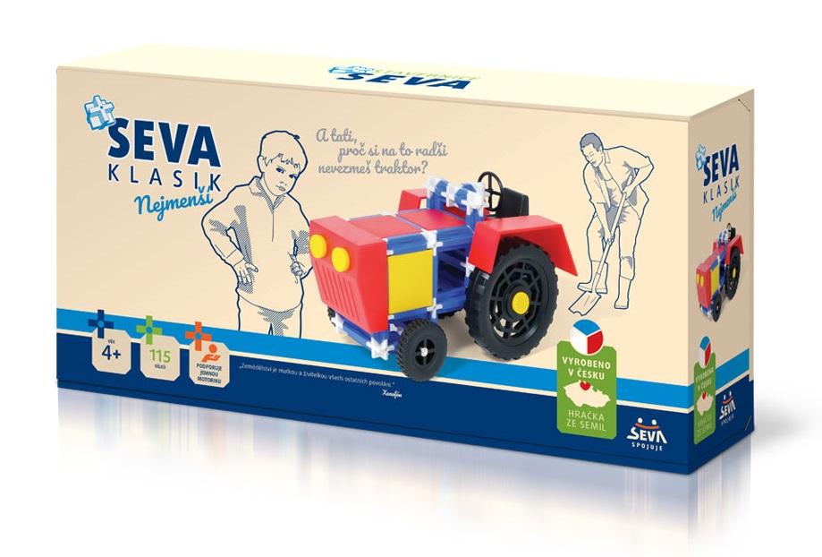 Stavebnica Seva Traktor 115dielikov