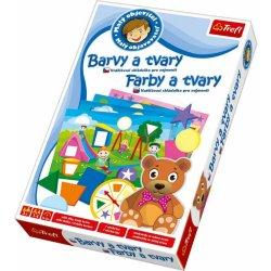Trefl Edukačná hra Farby a tvary