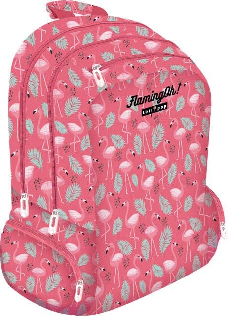 Školský batoh Lollipop Plameniaky