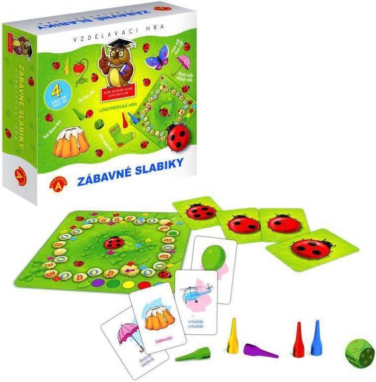 Zábavné slabiky - vzdelávacia hra