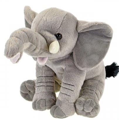 Plyšový slon sediaci 20cm