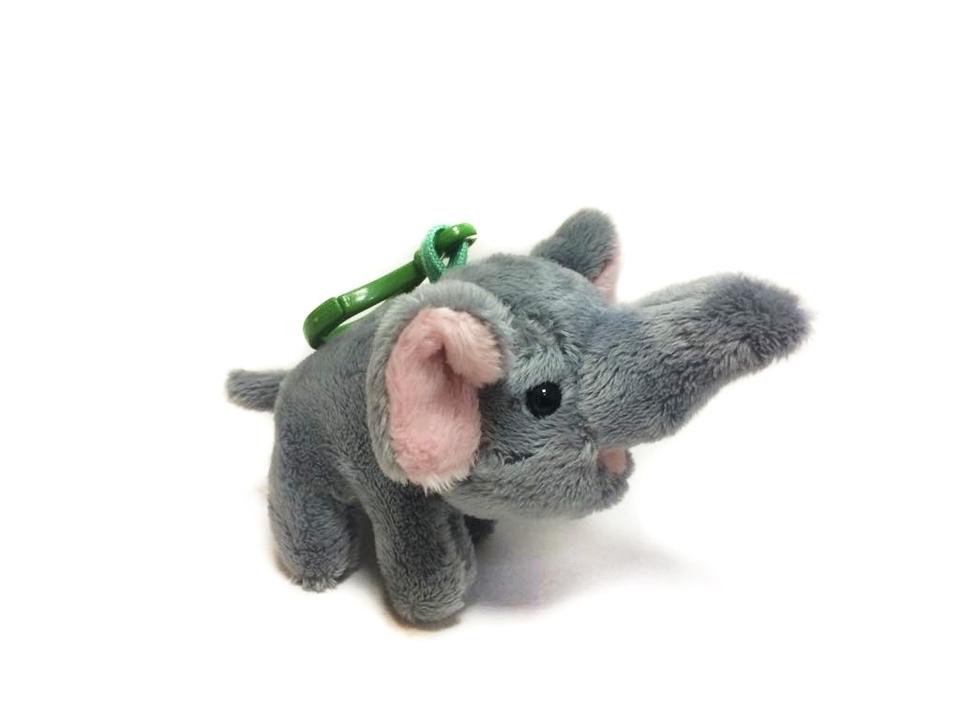 Slon plyšový - kľúčenka