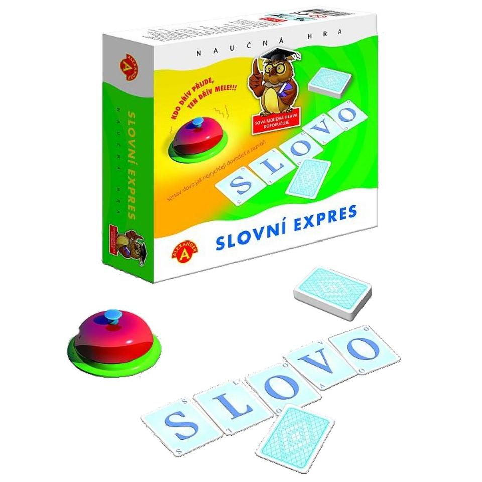 Slovný Expres - Spoločenská Hra