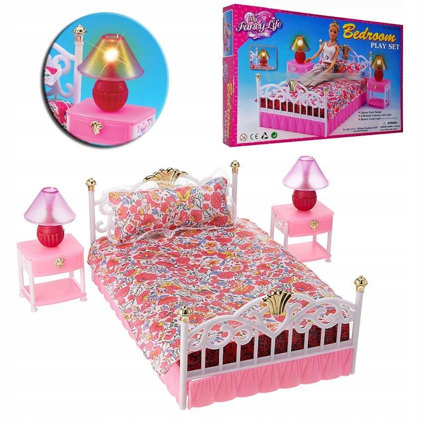 Posteľ pre bábiku set