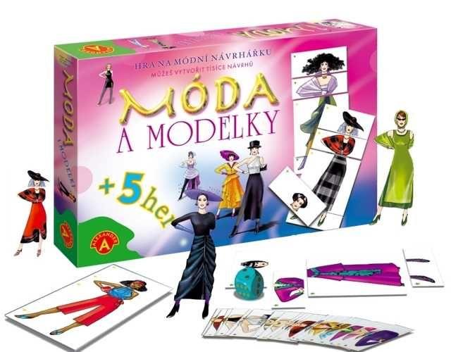 Spoločenská hra móda a modelky