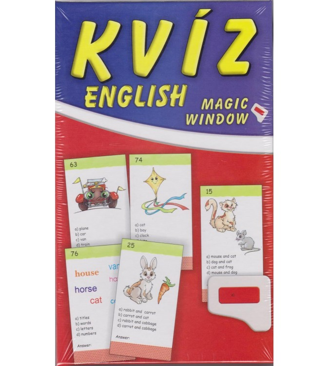 Kvíz English Magic window