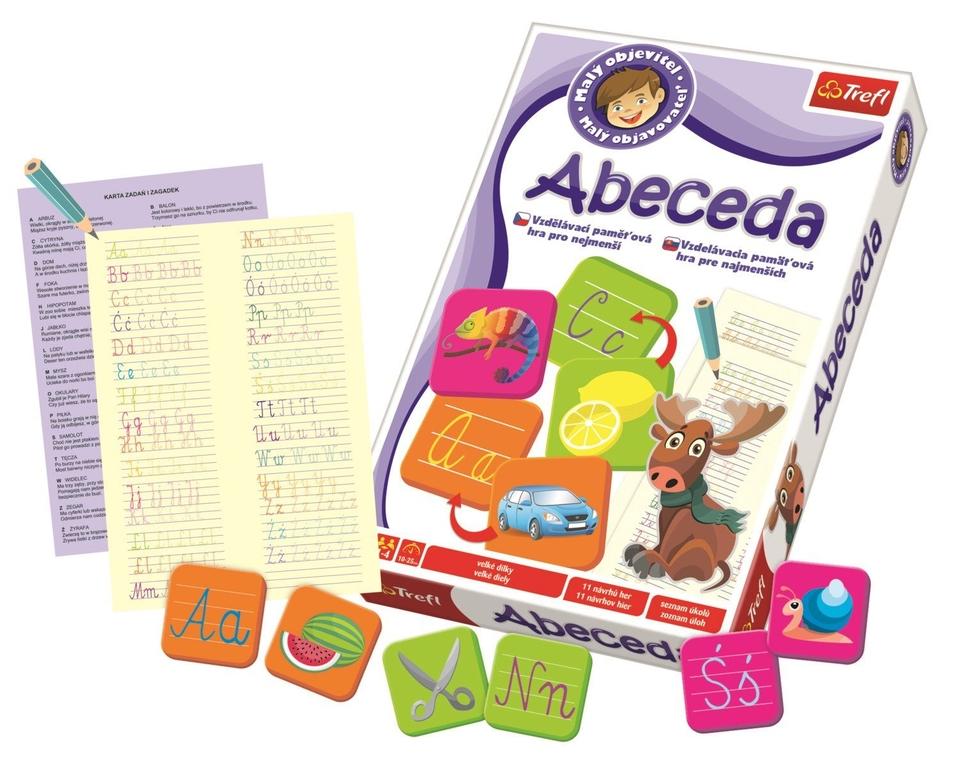 Spoločenská hra - abeceda
