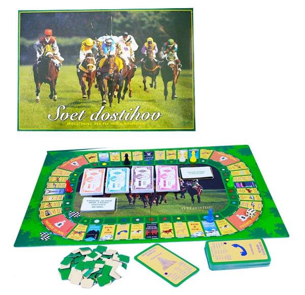 Spoločenská hra - Dostihový Svet
