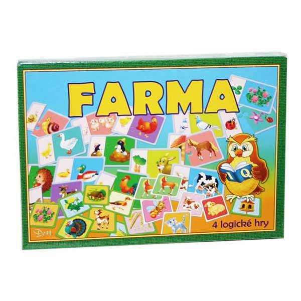 Spoločenská hra-Farma