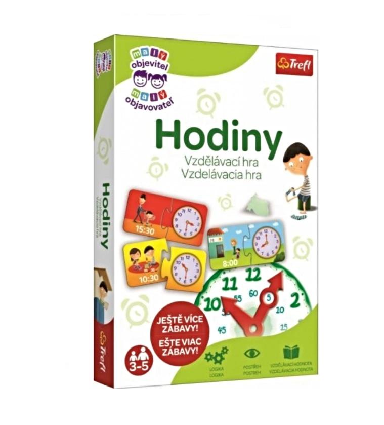 Trefl hra pre deti Hodiny