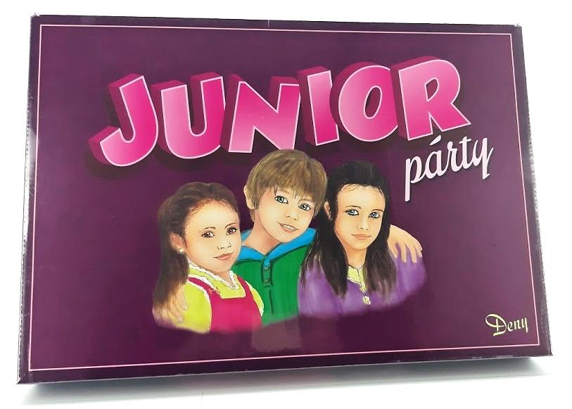 Spoločenská hra Junior párty