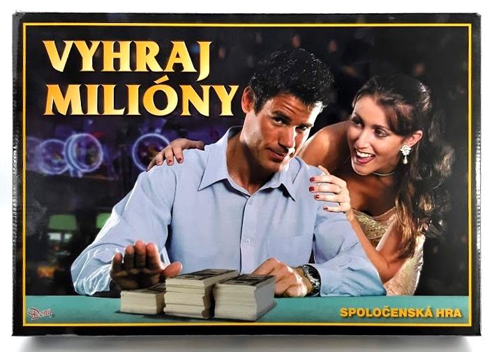 Spoločenská hra Milionár