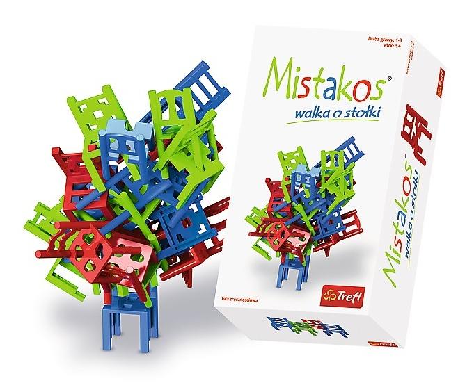 Trefl spoločenská hra Mistakos