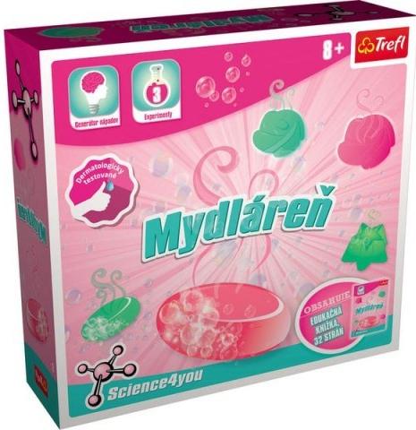 Trefl Science 4You Vyrob si voňavé mydlá