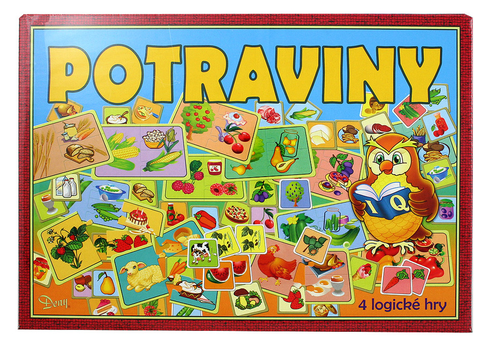 Spoločenská hra - POTRAVINY