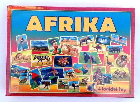 Spoločenská hra - Afrika