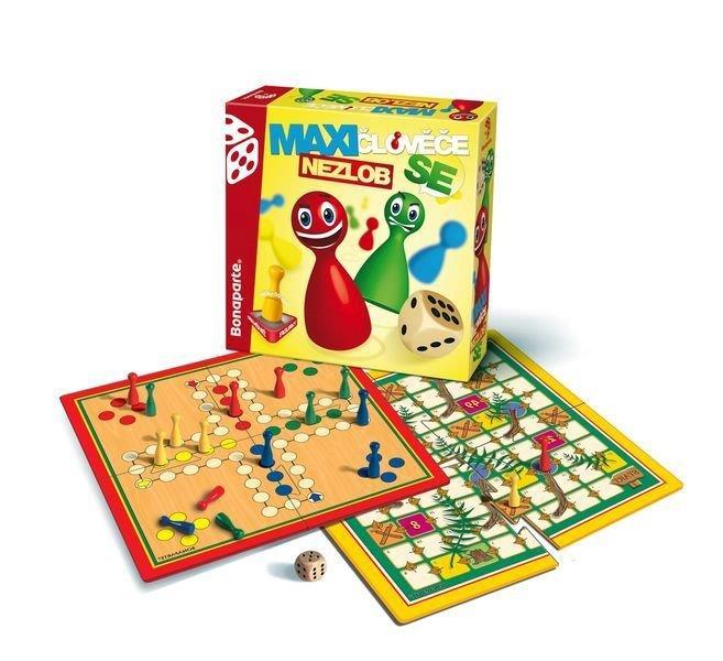 Spoločenská hra - Človeče nezlob se maxi