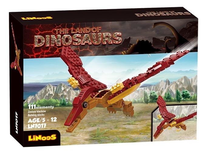LiNooS Stavebnica Pterodactylus 111ks