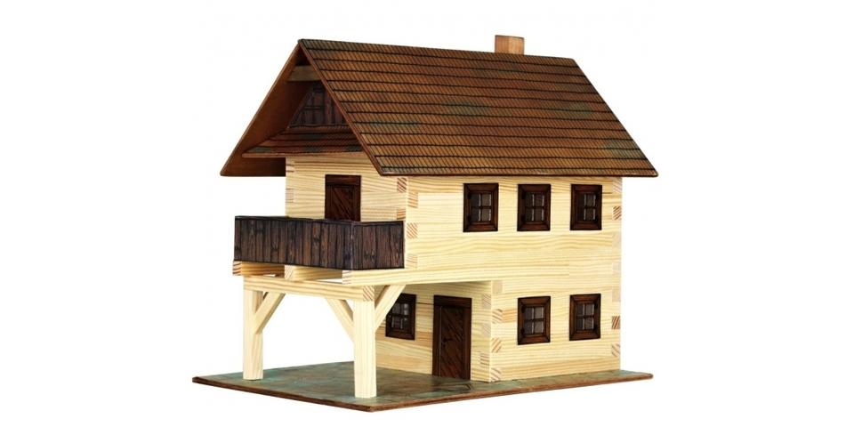 Drevená stavebnica - radnica