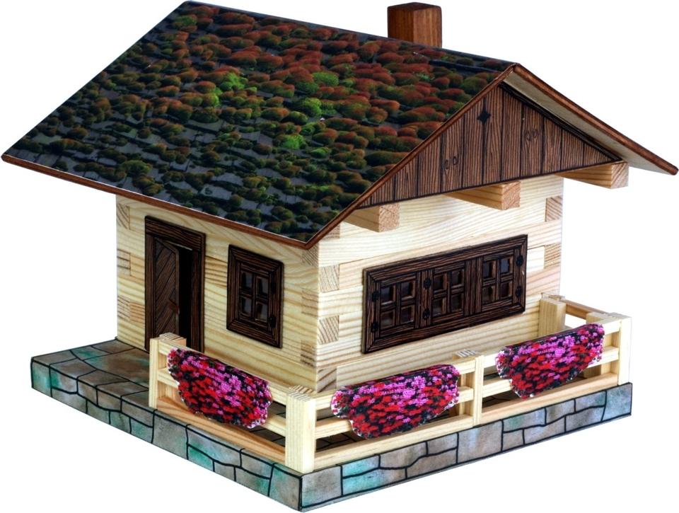 Drevená stavebnica - alpská chata