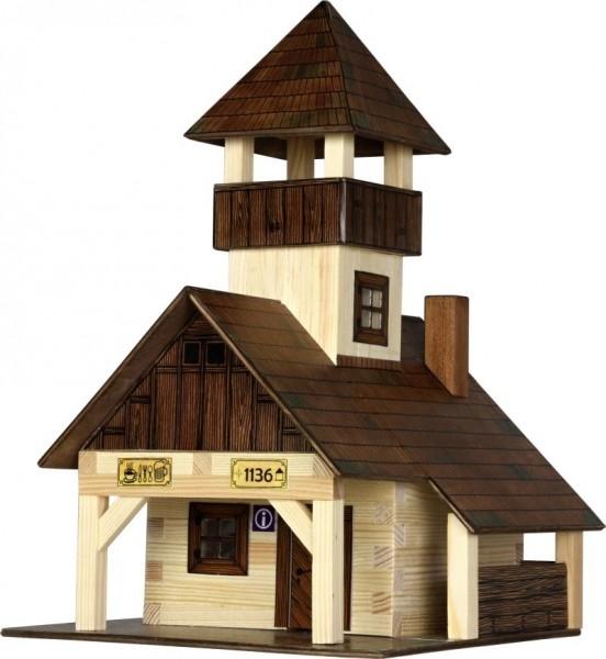 Drevená stavebnica - horská búda