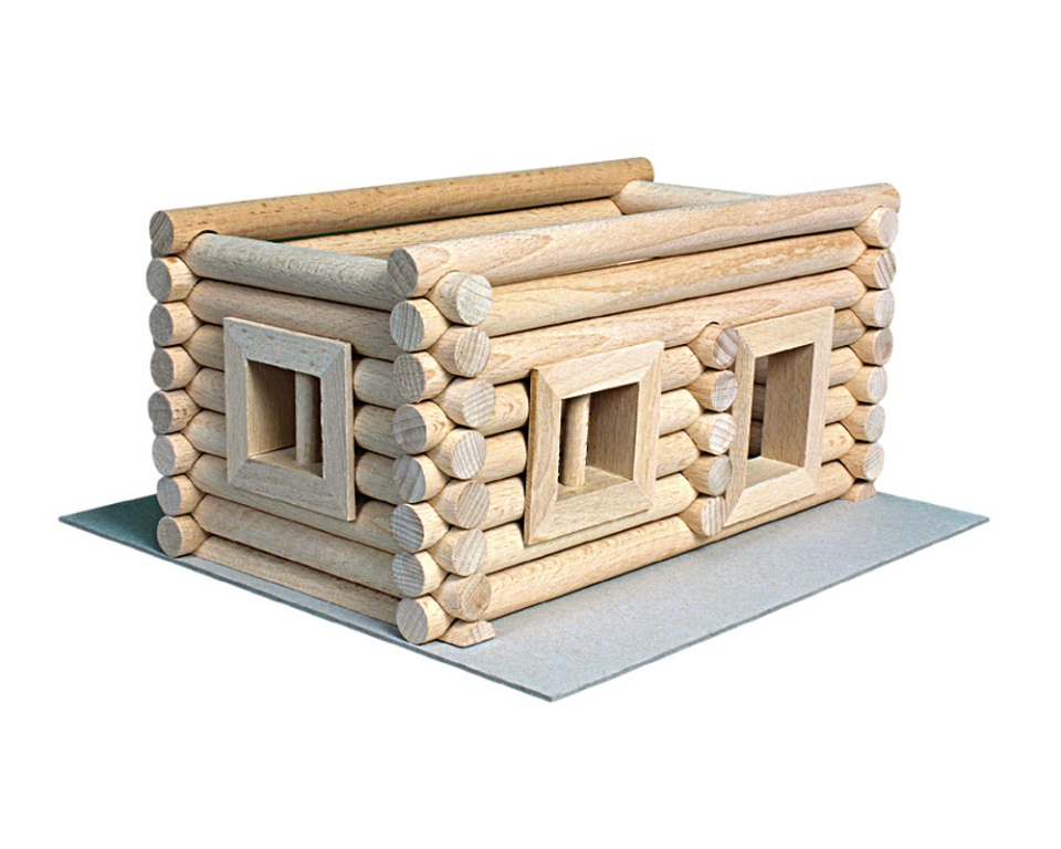 Drevená stavebnica - Vario 72ks