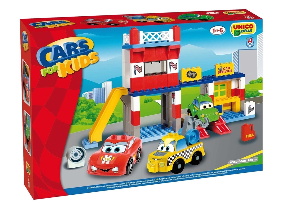 Stavebnica - autá