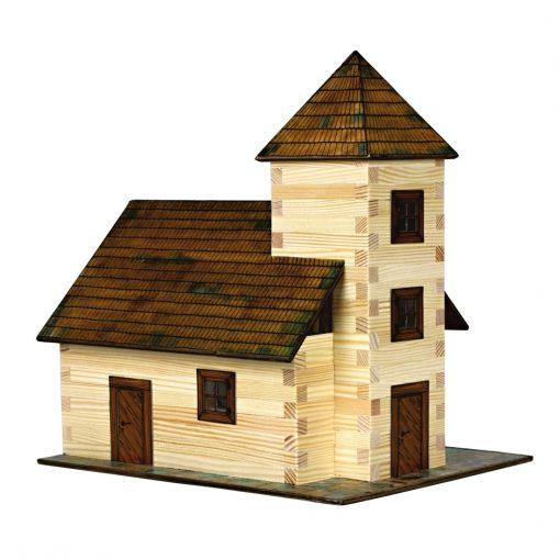 Stavebnica drevená - Kostol