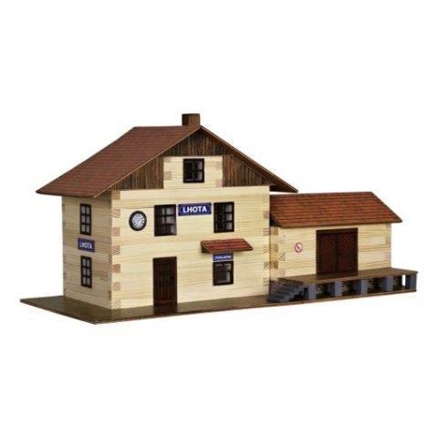 Stavebnica drevená - Vlaková Stanica