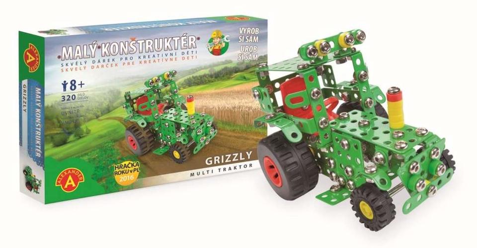Stavebnica Kovová - Traktor