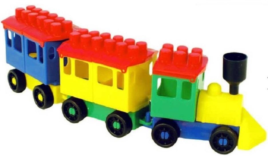 Stavebnica Lori 7 - malý vlak