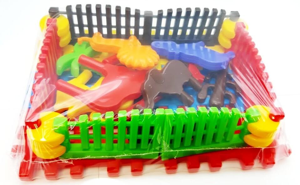 Stavebnica plastová safari