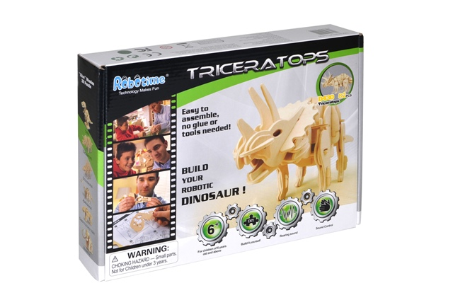 Stavebnica Triceratops