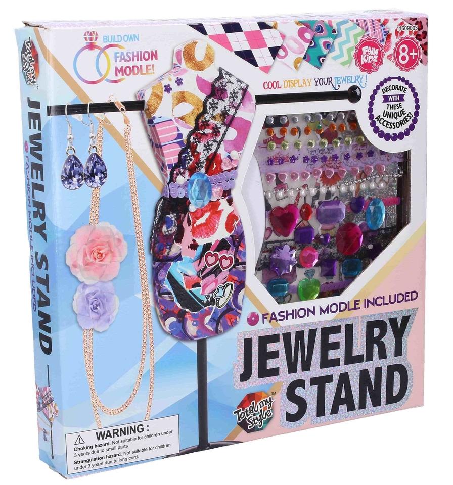 Módny set stojan na šperky
