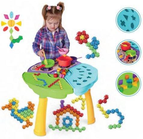 Hrací stôl baby 3v1