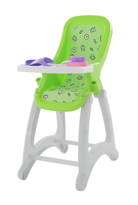 Stolička pre bábiky 67cm - žltá