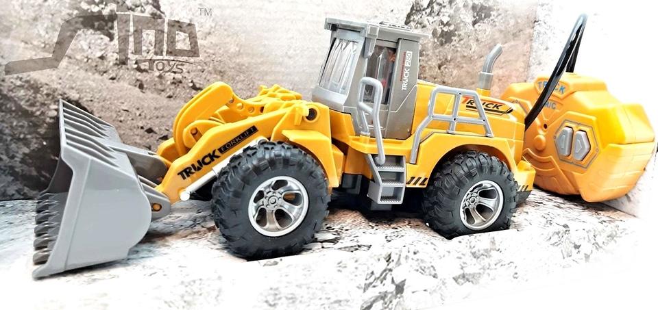 Stavebný stroj RC 24cm - buldozér