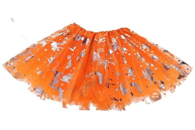 Sukňa Halloween 29cm - oranžová
