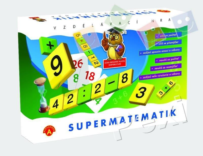 Spoločenská hra - Super matematik
