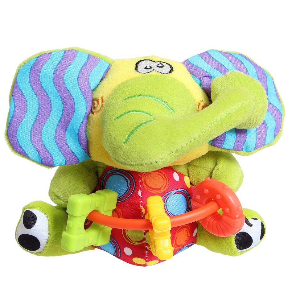 Playgro Šuštiaci sloník s hrýzatkami